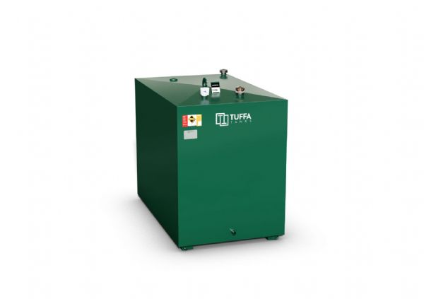 1800 Litre Steel Oil Tank - Single Skin